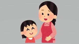 お母さんと女の子